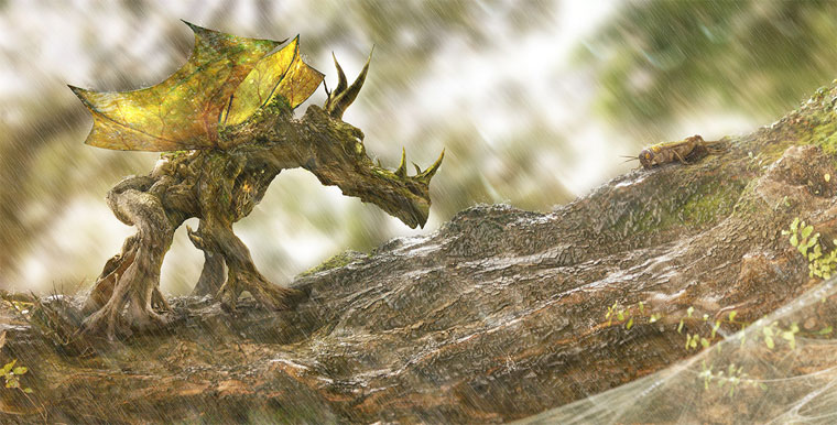 The Wood Dragon & The Cricket