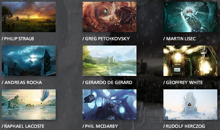 Thumbnails of some Infinite Oz imagery