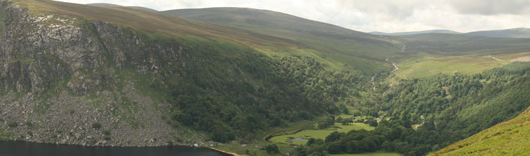 Lough Teagh Panorama