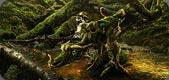 The Moss Dragon at Amberfall